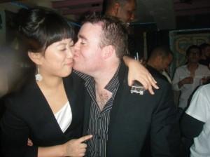 Kissing a Korean girl