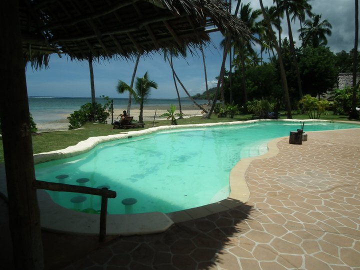 The pool at Mango Bay, Fiji