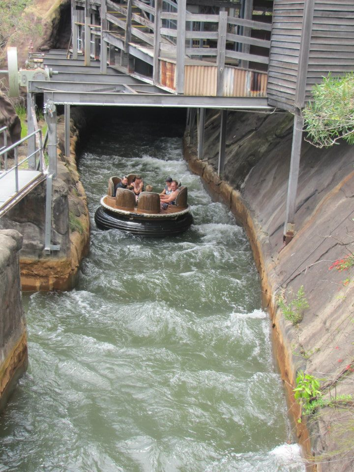 Thunder River Rapids Ride at Dreamworld