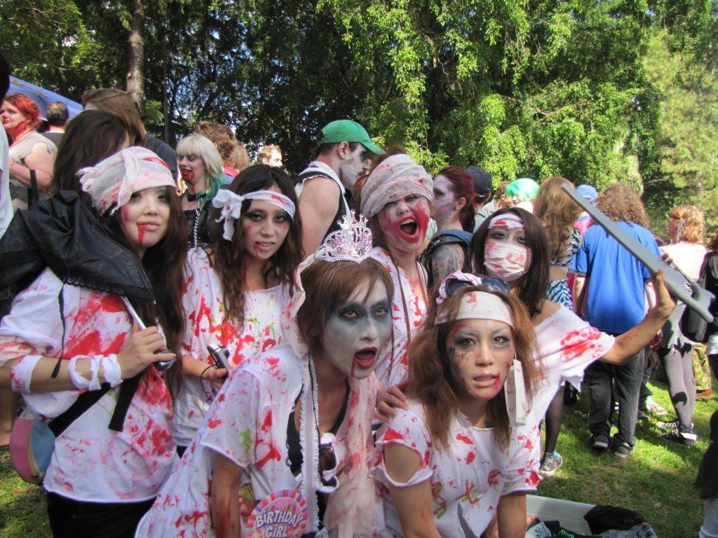 Zombie cosplay at the 2011 Brisbane Zombie Walk