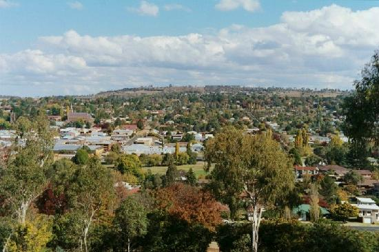 Armidale in northern NSW as seen from the lookout. Photo from TripAdvisor.