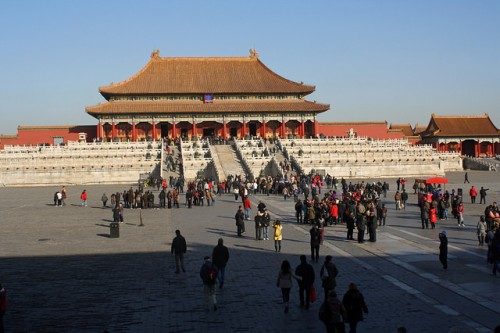 The Forbidden City. Image by Ib Aarmo.