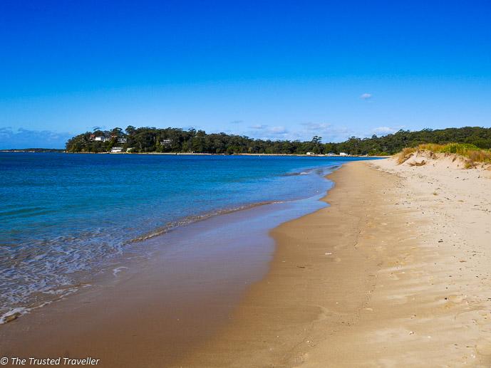 A deserted beach in the Royal National Park, one of Sydney's best kept secrets