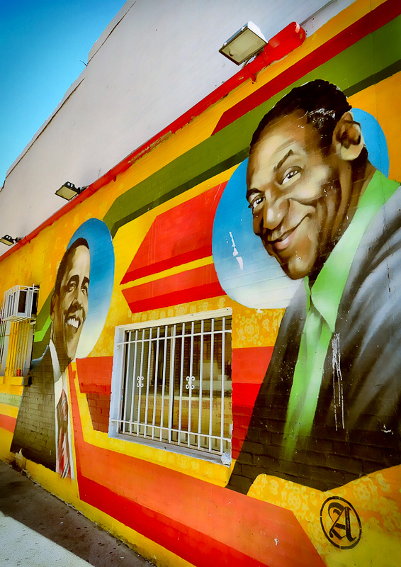 bens chili bowl bill cosby mural