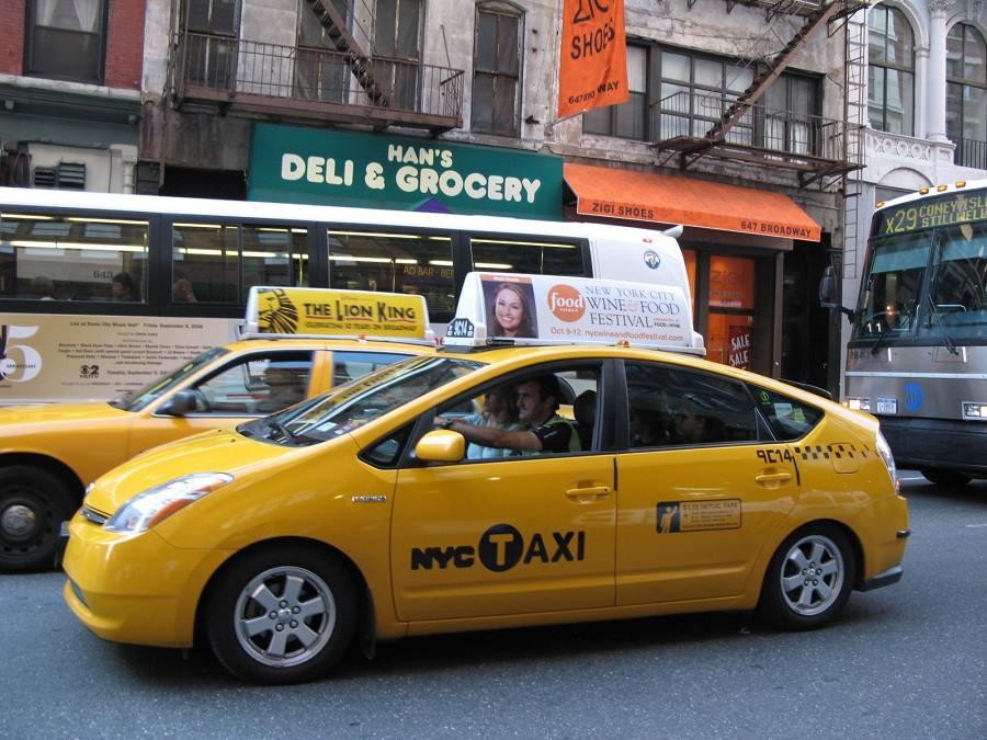 nyc yellow cab