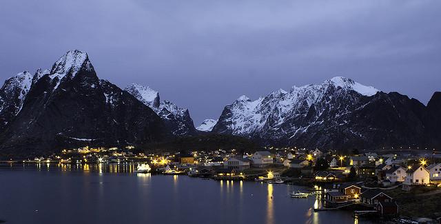lofoten fishing village