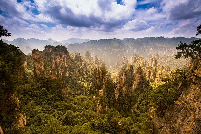 24. Zhangjiajie Avatar Mountains