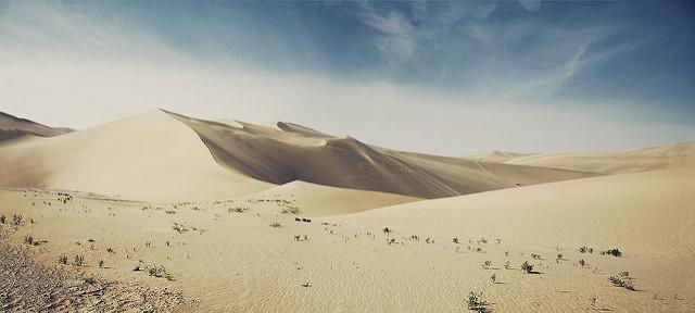 echoing sand mountains