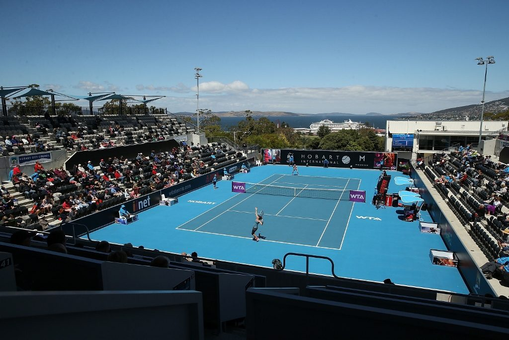 hobart international tennis