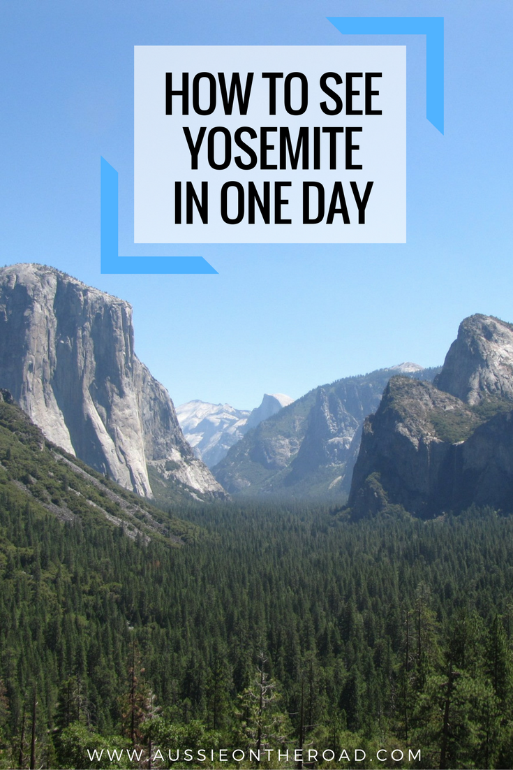 how to see yosemite in one day